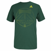 Portland Timbers adidas End of the Line Tee - Green
