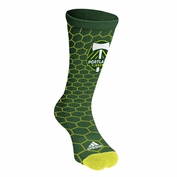Portland Timbers adidas Honeycomb Socks - Green - FINAL SALE