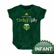 Portland Timbers adidas Infant Timbers Baby Onesie - Green