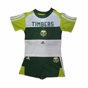 Portland Timbers adidas Infant Top & Short Set - Green