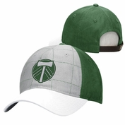 Portland Timbers adidas Lifestyle Secondary Slouch Adjustable Cap - Grey/Green