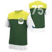 Portland Timbers adidas Originals 75 Color Block Tee - Green/Moss/White