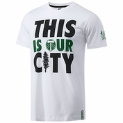 Portland Timbers adidas Originals Capsule Collection This is Our City Tee - White