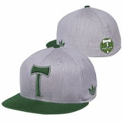 Portland Timbers adidas Originals FVF Flex Fit Cap - Grey