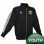 Portland Timbers adidas Originals Youth Legacy Track Jacket - Black