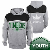 Portland Timbers adidas Originals Youth Pullover Hoody - Grey