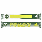 Portland Timbers adidas Sublimated 2014 Draft Scarf - Green
