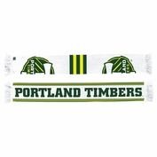Portland Timbers adidas Sublimated Scarf - White