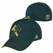 Portland Timbers adidas Third Jersey Hook Flex Fit Hat - Green/Gold