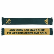 Portland Timbers adidas Third Jersey Hook Scarf - Green/Gold