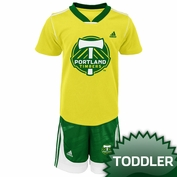 Portland Timbers adidas Toddler Midfielder Shirt & Short Set