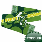 Portland Timbers adidas Toddler My First Scarf - Green