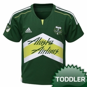 Portland Timbers adidas Toddler Replica Primary Jersey - Green