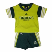 Portland Timbers adidas Toddler Top & Short Set - Green