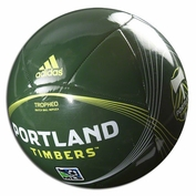 Portland Timbers adidas Tropheo Full-Size Soccer Ball