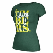 Portland Timbers adidas Women's All Team Short Sleeve Tee - Green