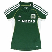 Portland Timbers adidas Women's Call Up Jersey - Green