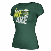 Portland Timbers adidas Women's Cap Sleeve Full Charge Tee - Green