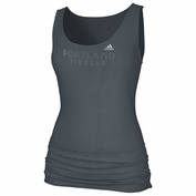 Portland Timbers adidas Women's Game Banded Tank - Storm