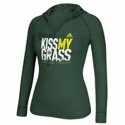 Portland Timbers adidas Women's Kiss My Grass Long Sleeve Hooded Tee - Green