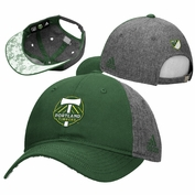 Portland Timbers adidas Women's Slouch Lace Visor Adjustable Cap - Green