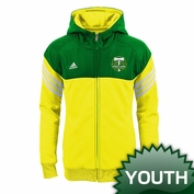 Portland Timbers adidas Youth Girls Goal Side Hoody - Green/Moss