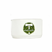"Portland Timbers All Star Dogs 4.5"" Bowl - White"