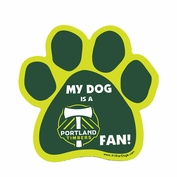 Portland Timbers All Star Dogs Paw Magnet