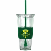Portland Timbers Boelter Straw Tumbler