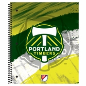 Portland Timbers C.R. Gibson 3-Subject Notebook - Green