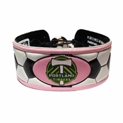Portland Timbers Classic Soccer Ball Bracelet - Pink/White