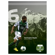 "Portland Timbers Darlington Nagbe 16"" x 22"" Ticket Poster - FINAL SALE"