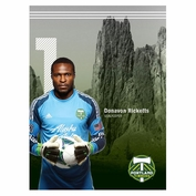 "Portland Timbers Donovan Ricketts 16"" x 22"" Ticket Poster"