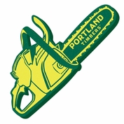 Portland Timbers Foam Chainsaw - Green