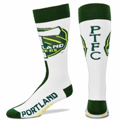 Portland Timbers For Bare Feet Logo Socks - White/Green
