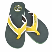 Portland Timbers Forever Collectibles Flip Flops - Green