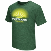 Portland Timbers Fremont Bridge Graphic Tee - Green
