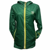 Portland Timbers G-III Women's City Field Lightweight Windbreaker Jacket - Green