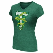 Portland Timbers G-III Women's Fallin' In Love Tee - Green