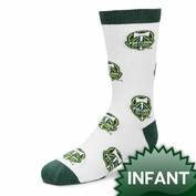 Portland Timbers Infant All-Over Logo Print Socks - White