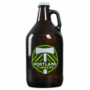 Portland Timbers Keyscaper 64oz. Growler - Brown