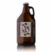 Portland Timbers Keyscaper Silver King of Clubs Growler - Brown