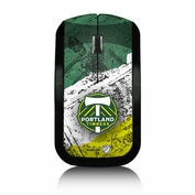 Portland Timbers Keyscaper Slim Series Wireless Mouse - Green/White/Moss