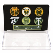 Portland Timbers Limited Edition 5/40 Commemorative Pin Set