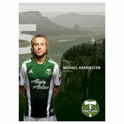 "Portland Timbers Michael Harrington 16"" x 22"" Ticket Poster"