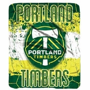 Portland Timbers Northwest 50x60 'Shred' Rolled Fleece Blanket - Green