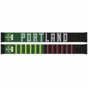 Portland Timbers & Portland Thorns FC Ruffneck Split Team Scarf - Black/Green