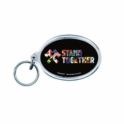 Portland Timbers & Portland Thorns FC WinCraft Stand Together Diversity Keyring - Black