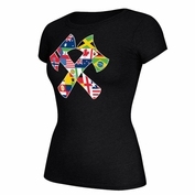 Portland Timbers & Portland Thorns FC Women's Triblend Stand Together Diversi-Tee 2.0 - Charcoal