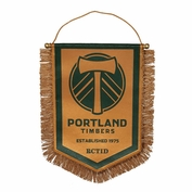 Portland Timbers RCTID Third Shield Pennant - Gold